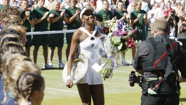 Williams has not managed to win a grand slam since her fifth Wimbledon triumph in 2008. She has also won her home U.S. Open twice and reached the final of the Australian and French slams.