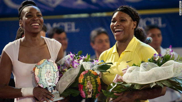 As part of her bid to return to the WTA Tour, WIlliams played an exhibition match against Serena -- who has overcome health problems of her own -- in Colombia in November. Venus won 6-4 7-6 (7-4).