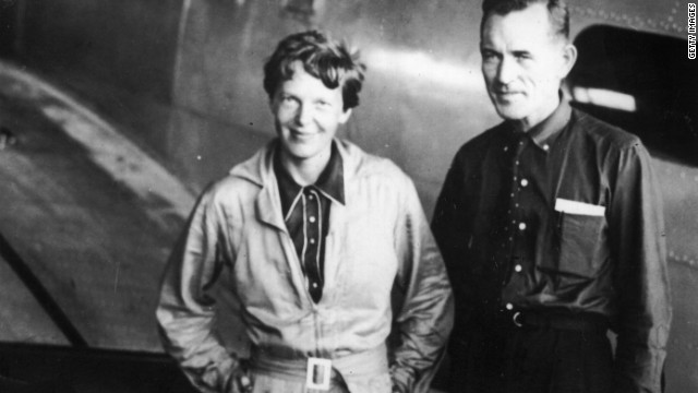 Do clues to Amelia Earhart mystery lurk beneath the sea?