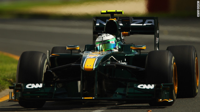 The car used by Lotus during the 2010 Formula One season is at the center of Force India's dispute with Aerolab.