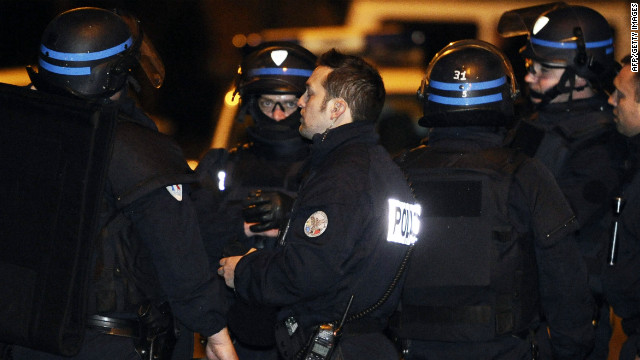 Police fired stun grenades at the building every hour through the night Wednesday, but there was no response. French Interior Ministry spokesman Pierre-Henry Brandet told CNN the blasts were meant to pressure Merah back into talks with negotiators.