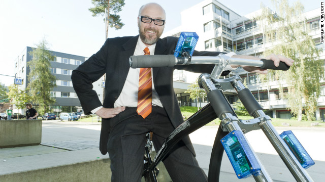Coming to your bicycle: wireless braking?