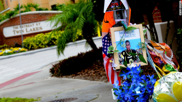 Trayvon Martin memorial removed but preserved, city says
