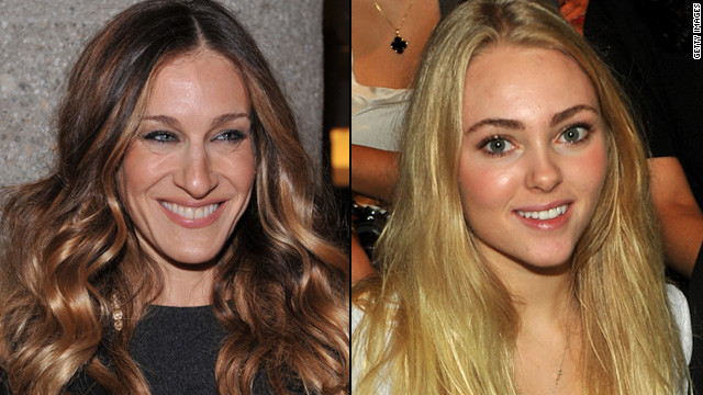 SJP encourages young Carrie Bradshaw