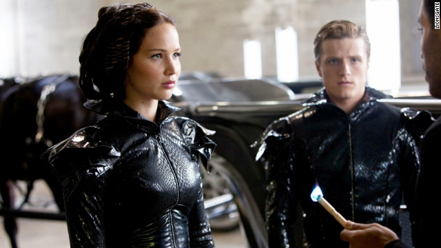 Jennifer Lawrence and Josh Hutcherson star in