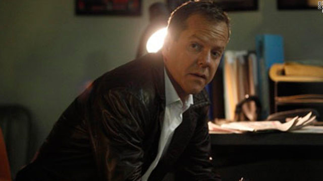 Kiefer Sutherland starred as Jack Bauer in