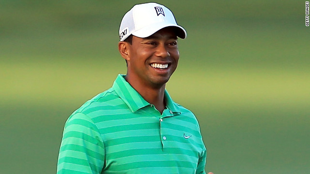 Woods was all smiles after an opening round three-under-par 69 at the Arnold Palmer Invitational at Bay Hill.