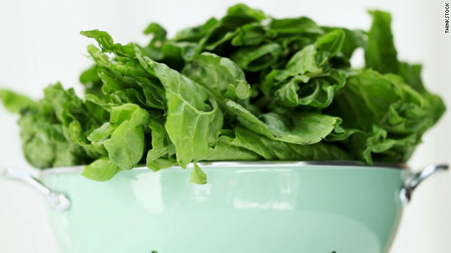 Leafy vegetables such as spinach and cabbage are responsible for the majority of the illnesses.