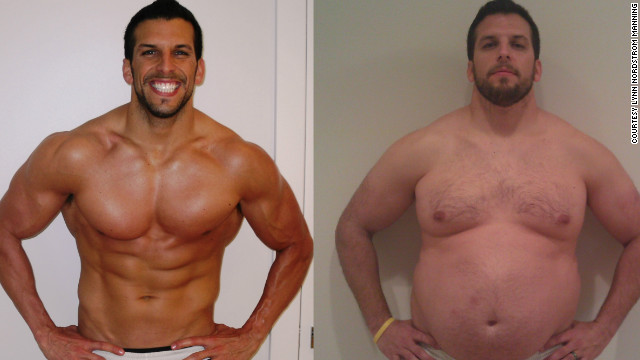 Personal trainer Drew Manning went from being ideal to overweight for his