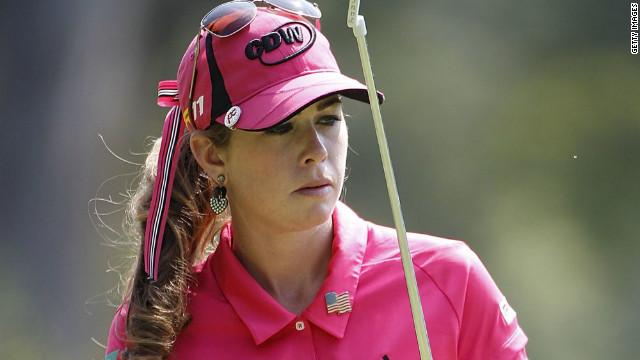 Paula Creamer, del campo de golf al campo de batalla