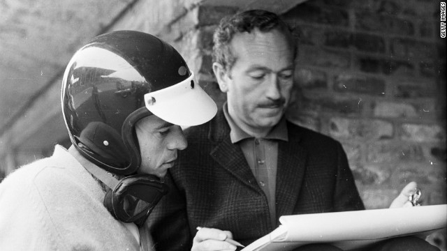 Briton Colin Chapman founded Lotus in 1948. He is pictured here alongside driver Jim Clark, who would go on to win a drivers' championship for the team.