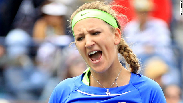 Victoria Azarenka has now gone 24 matches unbetaen in 2012 after her victory over Michaella Krajicek