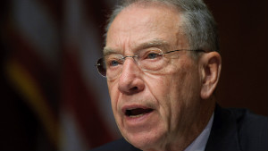 Sen. Chuck Grassley asked whether the Secret Service reserved or shared rooms with White House staff members.