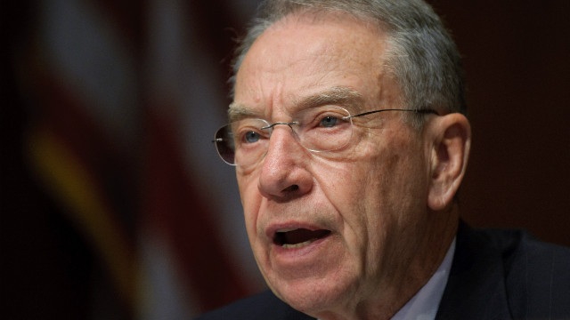 Sen. Charles Grassley of Iowa is the top Republican on the Judiciary Committee.