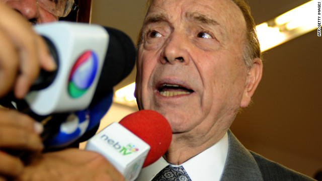 Brazilian football confederation chief Jose Maria Marin wants Chile to host the 2015 Copa America.
