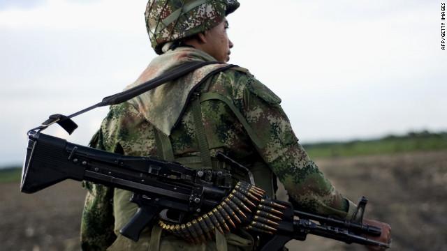Ejército de Colombia captura a alias 'Leandro', cabecilla de las Farc