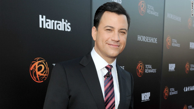 Jimmy Kimmel to host 64th Primetime Emmys