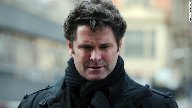 Chris Cairns returns to the London High Court during the eight-day libel hearing against Lalit Modi.