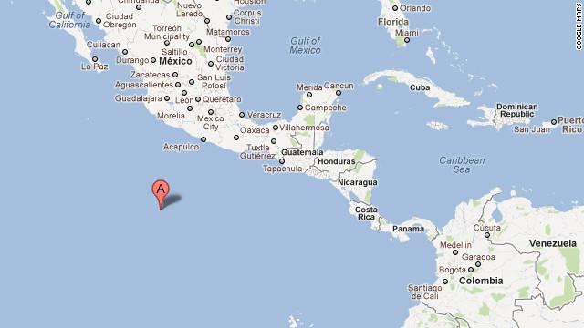 Sismo de magnitud 6 en el Pacífico al oeste de México