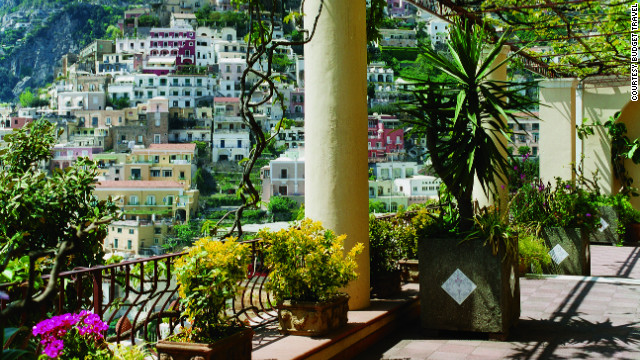 Albergo California in Positano, Italy. <a href='http://www.budgettravel.com/slideshow/photos-secret-hotels-around-the-world,2067/?cnn=yes#pic=1?cnn=yes' target='_blank'>See more photos of the hotels on BudgetTravel.com</a>