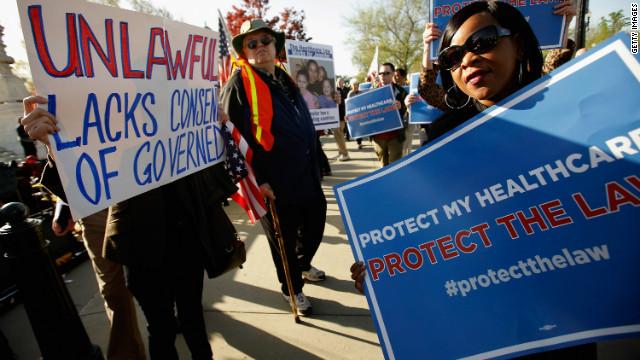 La Corte Suprema concluyó las audiencias sobre la reforma de salud de Obama