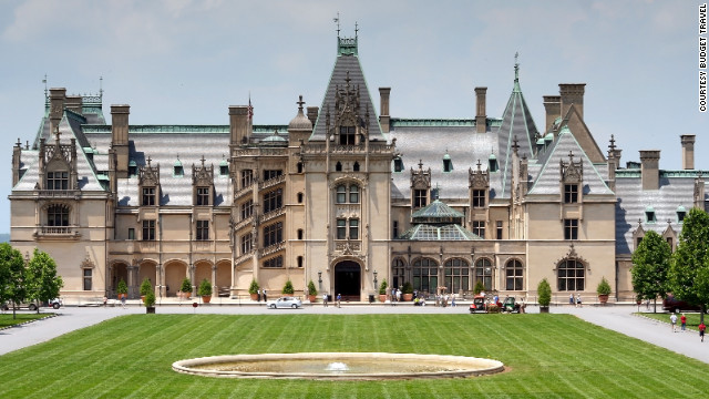The Biltmore Estate in Asheville, North Carolina. <a href='http://www.budgettravel.com/slideshow/photos-beautiful-homes-gardens,8328/?cnn=yes' target='_blank'>See the full gallery on Budget Travel</a>