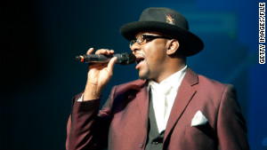 Singer Bobby Brown is scheduled to perform with New Edition on Thursday in St. Louis, Missouri.
