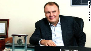 Former Russian banker German Gorbuntsov was shot as he entered an apartment building in east London on March 20.