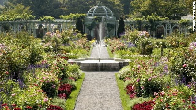 The Old Westbury Gardens in Old Westbury, New York