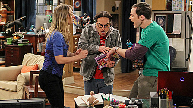 Sheldon meets Spock on 'The Big Bang Theory'