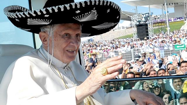 México permanecerá siempre en el corazón del Papa Benedicto XVI