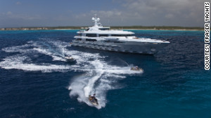 Imagine is 65.5 meters in length and costs 530,000 ($707,000) to charter for one week.