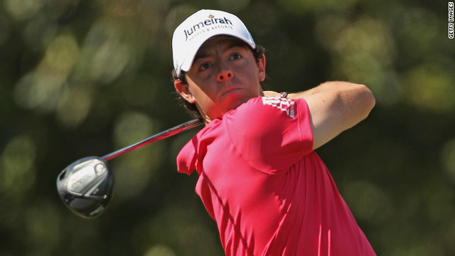 Northern Irishman Rory McIlroy reached the top of the world rankings for the first time earlier this month.