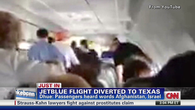 JetBlue passengers helped restrain their pilot, but Jason Marsh says that reaction to a crisis is not as common as you might hope.