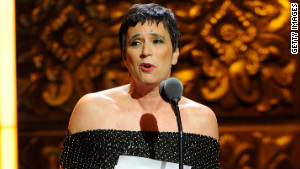 Eve Ensler was recognized at last year\'s Tony Awards for her \