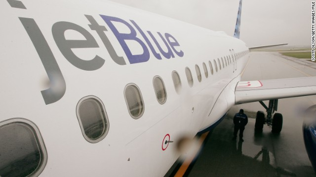 JetBlue slows down operations in Northeast 120327090326-jetblue-plane-story-top