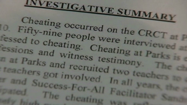 Update on the Atlanta cheating scandal