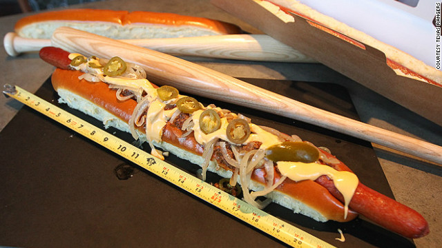 $26 hot dog joins the snack roster at Rangers Ballpark
