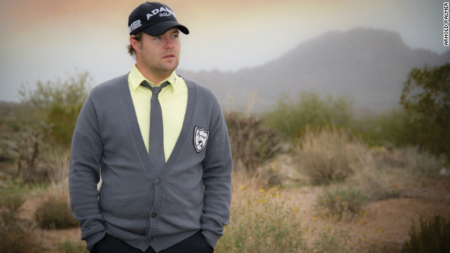 PGA Tour professional Ryan Moore is the leading current player to wear the Arnie Apparel range. The 29-year-old Moore has won one event, the 2009 Wyndham Championship, since joining the tour in 2005.