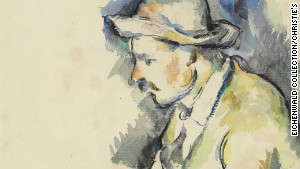Rediscovered Cezanne sketch up for auction