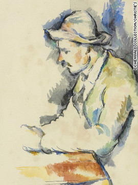 A study for Paul Cezanne's master work &quot;The Card Players,&quot; missing for decades, has been rediscovered among the paintings of a Texas art collector, and will be sold at auction later this year.