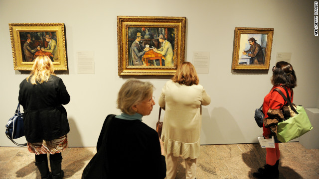 The finished paintings are now star attractions in some of the world's most famous museums -- they were the subject of an exhibition at London's Courtauld Gallery and the Metropolitan Museum of Art in New York in 2011.