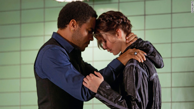 Lenny Kravitz plays Katniss' stylist Cinna in