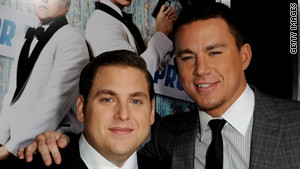 Jonah Hill and Channing Tatum at the \