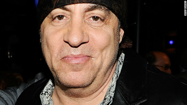 Nils Lofgren (left) and Steven Van Zandt, shown here in 2010.