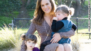 Adrienne Arieff and daughters Emma and India