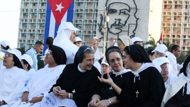 Pope Benedict XVI visits Cuba