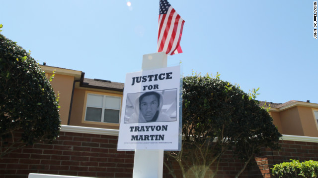 Stigma for town in Trayvon Martin killing