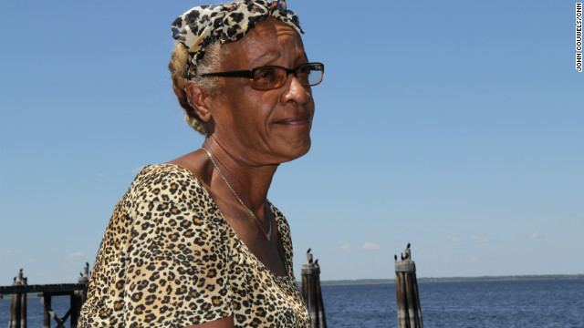 "Longtime resident Myranette Boynton, 58, says she thinks the attention to Sanford will make a difference. ""This occasion has happened too many times, and enough is enough,"" Boynton says from the banks of Lake Monroe. ""Trayvon is not the only one, but Trayvon should be the last one."""