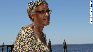 Myranette Boynton, 58, a longtime resident, says she thinks the focus on Sanford will make a difference for the better.